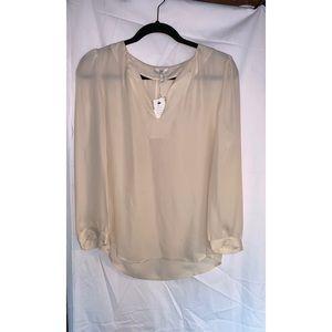 Joie pear-line Silk blouse